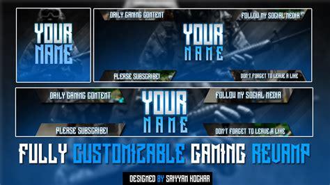 Free Gaming Rebrand V2 (logo Template, Twitter