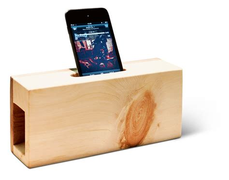 Schöne Dinge Aus Holz by Lautsprecher Ohne Elektronik Klang Aus Holz Design