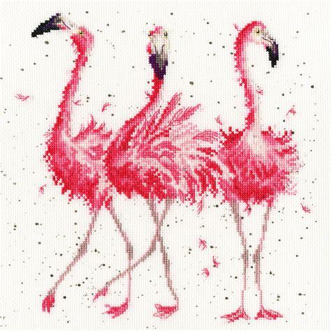 bothy threads pink ladies cross stitch kit xhd