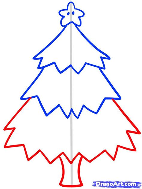christmas pictures step by step how to draw a tree for step by step stuff seasonal free