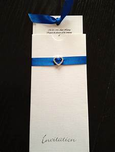 17 best images about royal blue royal blue and fuchsia With handmade wedding invitations by clare