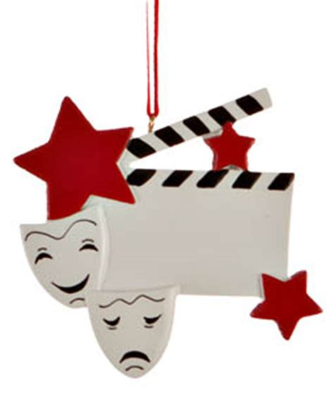 drama christmas ornaments drama faces ornament activities and hobbies