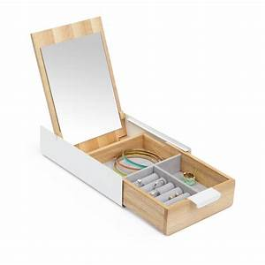 Boite A Bijoux Design : boite bijoux design boite bijou reflexion par umbra ~ Melissatoandfro.com Idées de Décoration