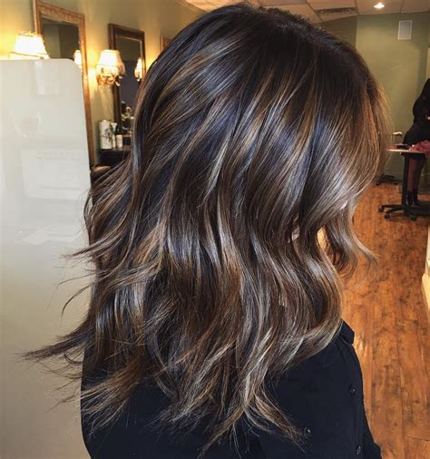 chocolate brown hair color ideas  brunettes