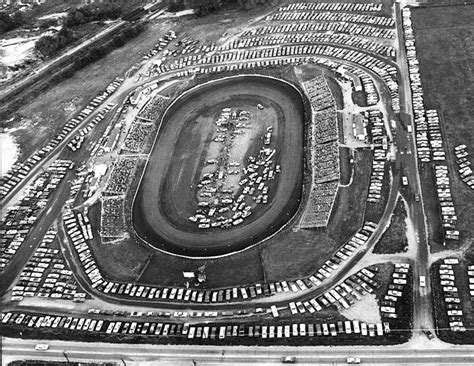 Aerial view of The Peoria Speedway - 1970 | Peoria IL ...