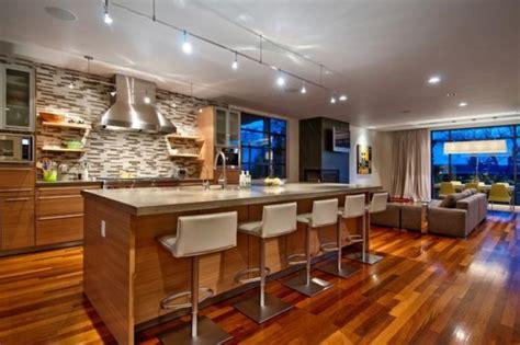 cuisine ouverte ilot la cuisine avec ilot cuisine bien structurée et fonctionnelle archzine fr