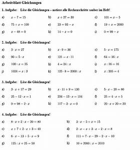Maßstab Berechnen 5 Klasse Gymnasium : arbeitsblatt gleichungen l sen matheaufgaben klasse 5 mathefritz ~ Themetempest.com Abrechnung