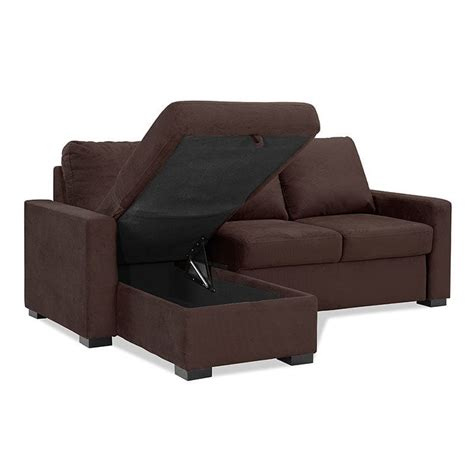 chester queen size convertible sofa bed lounger