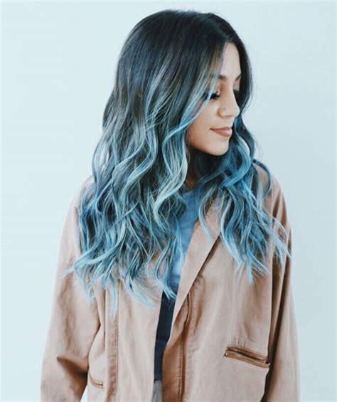 pastel blue hair color ideas hair options