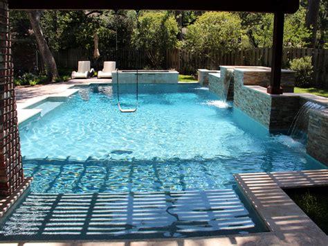 Contemporary Swimming Pools Design 187 — Custom Outdoors