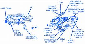 Chevrolet Corvette 1984 Inside Electrical Circuit Wiring