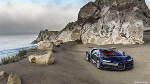 2017 Bugatti Chiron at The Quail - Front | HD Wallpaper #85
