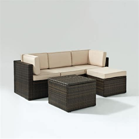 resin wicker outdoor patio furniture kmart