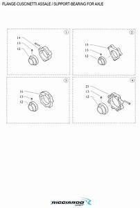 Axle Bearing Parts Diagram  U2013 Ricciardo Kart