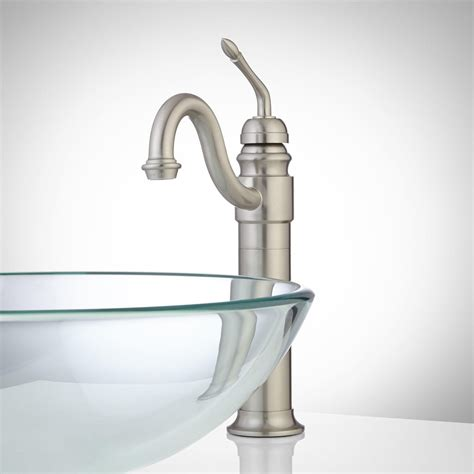 Sink Faucets And More by Yale Single Vessel Faucet With Pop Up Drain Vessel