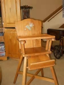 Antique Wooden High Chair Price