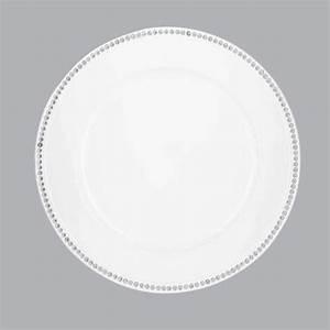 Lot D Assiette : lot de 12 dessous d 39 assiette strass blanc d co de table eminza ~ Teatrodelosmanantiales.com Idées de Décoration