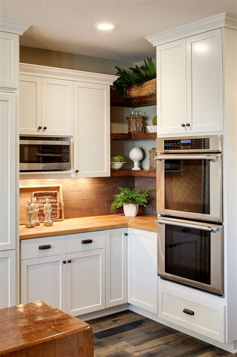 65 Ideas Of Using Open Kitchen Wall Shelves  Shelterness