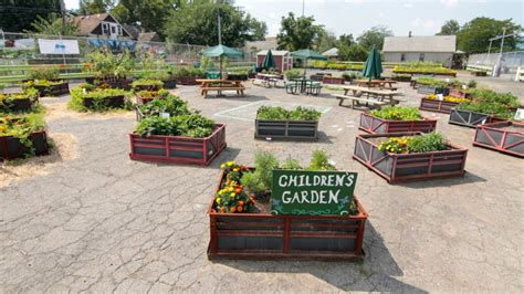 Urban Gardening : Gm Reuses Old Shipping Crates For Urban Gardening Project