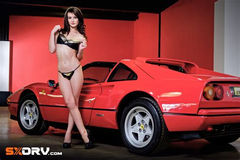 natanya malherbe ferrari  gts exclusive interview
