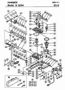 Hitachi H65sa Parts List