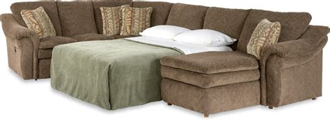 lazy boy chaise sofa lazy boy full sleeper sofa leah premier supreme comfort