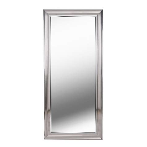 floor mirror home depot kenroy home lyonesse rectangle floor leaner mirror 60318 the home depot