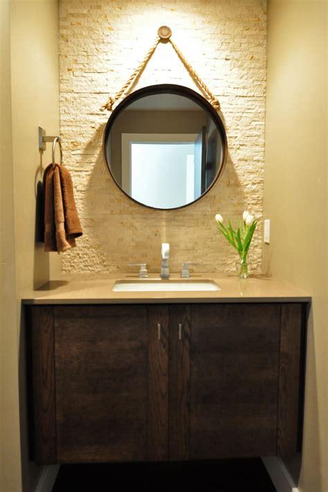 powder room mirror powder room contemporary with bathroom photos hgtv