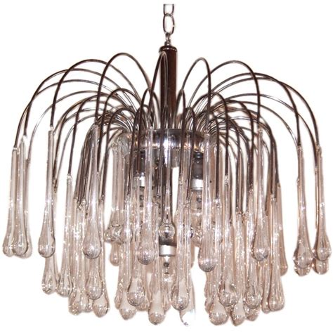Cascading Chandelier by Cascading Chandelier At 1stdibs