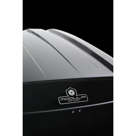 box portabagagli auto box tetto auto evo modula 470 lt baule nero