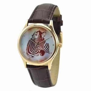 Christmas t Zebra Watch Colorful Uni Free