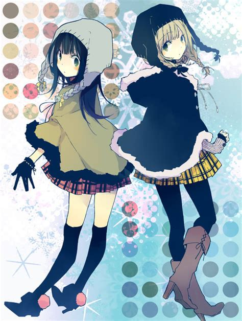 anime winter days winter days image 2188064 by ksenia l on favim