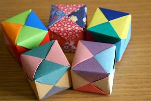 Creative, Ideas, For, You, How, To, Make, An, Origami, Cube