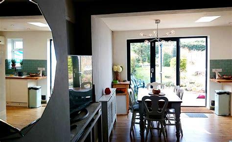 kitchen diner  lounge reveal homebuilding