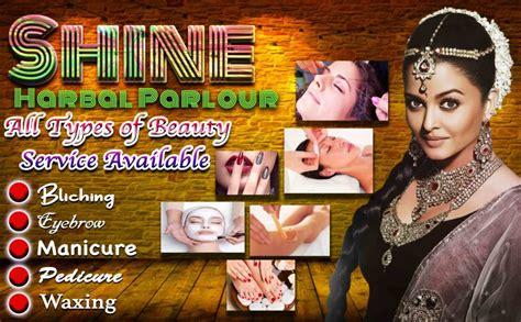 ladies beauty parlour psd banner design picture density