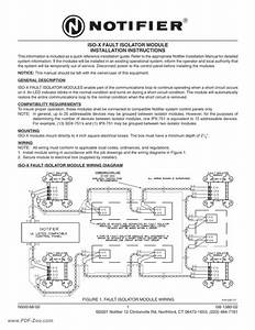 Notifier Iso X Wiring Diagram