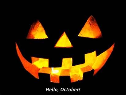 Halloween Pumpkin Hello Lantern Jack Gifs October