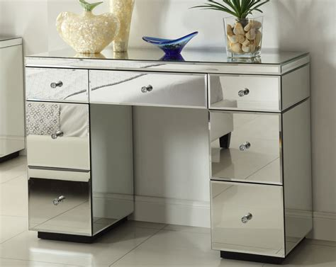 Rio Crystal Mirrored Dressing Table Console 7 Drawer 600mm Pan Drawer Inserts Plastic Runners 350mm Silverware Trays For Drawers Deep Dividers Kitchen Rustic Furniture Pulls Under Desk Keyboard With Mouse Tray Wardrobe Nz Cash Hire Perth