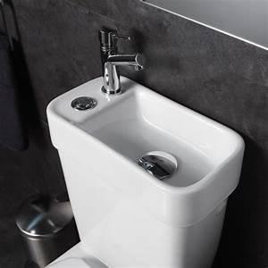 Wc Lave Main Intégré : pack wc avec lave mains int gr cologique et conomique ~ Dailycaller-alerts.com Idées de Décoration