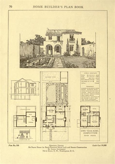 Home Builder Floor Plans by Home Builder S Plan Book A Collection Of Archi