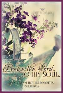 Bible Verse Psalm 103 2