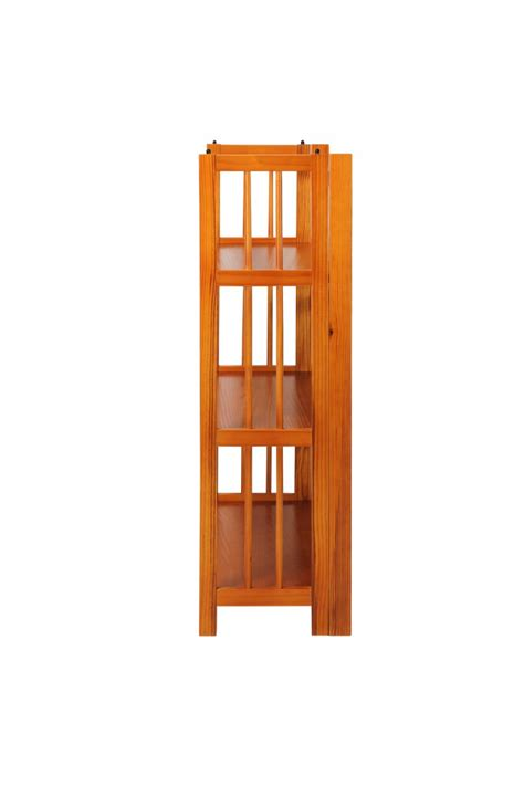 27 Wide Bookcase by 3 Shelf Folding Stackable Bookcase 27 5 Quot Wide Casual Home