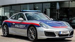 Nouvelle Voiture De Police : la police autrichienne roule en porsche 911 ~ Medecine-chirurgie-esthetiques.com Avis de Voitures
