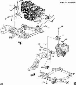 New Genuine Gm 12576733 Front Brace  Transmission Mounting