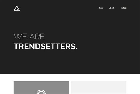 Beautiful Minimalist Web Designs