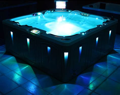 Hot Tub Lighting for Portable Hot Tub and spa | Hot Tubs Depot