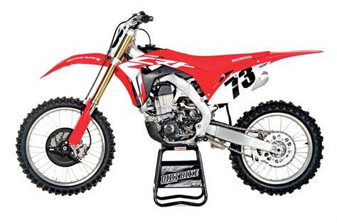 motocross bikes honda 2018 mx bike buyer s guide dirt bike magazine