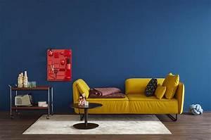 Schöner Wohnen Wandfarbe : gelbes sofa bilder ideen couch ~ Watch28wear.com Haus und Dekorationen