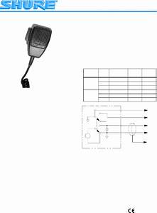 Shure Microphone 596lb User Guide