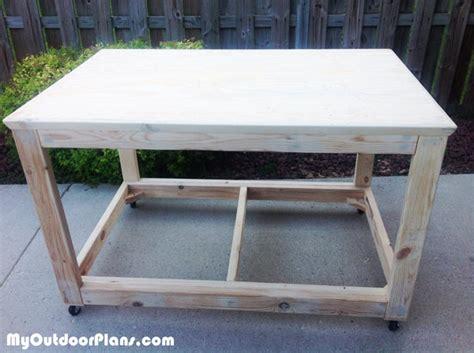 diy portable workbench myoutdoorplans  woodworking